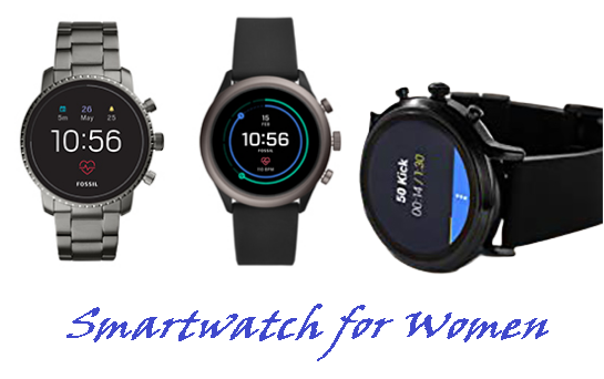 Fossil smartwatches for women